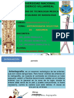 Arteriografia Selectiva de Abdomen y Tecnica de Seldinger