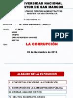 Analisis Critico de La Corrupción en Peru