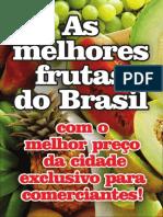 Panfleto Frutas do Éden