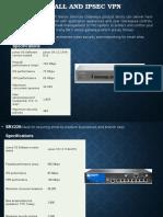 Firewall and IPSec VPN 1