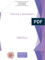 varicela - sarampion