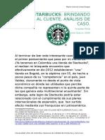 A Analisis de Caso Starbucks