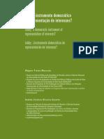 MANCUSO, Wagner P. Lobby instrumento democrático de representação de interesses