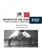 Phk Horse Stance Manual