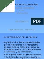 CALCULO DEL INDICE DE INFILTRACION