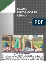 El Informe de Lectura