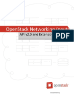 2015 OpenStack Networking (NEUTRON) API v2.0 & Extensions Reference