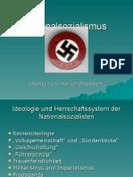NS - Ideologie Herrschaftssystem