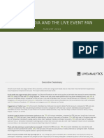 Social Media and The Live Event Fan