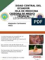 Deber33. Epidemiologia de Leishmaniasis