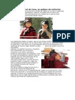 Lengua Ancestral de Lima