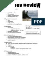 Exam Review 2010