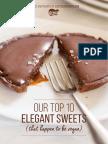 Top 10 Elegant Vegan Sweets