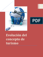 Evolucion Del Concepto de Turismo