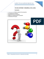 Tema 1. Diagnostico Del Entorno y Desarrollo de La Idea