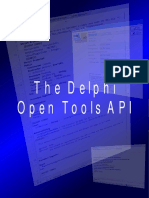 The Delphi IDE Open Tools API Version 1.1