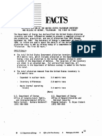 DOE Fact Sheet Declassification of the US Pu Inventory and Release of Report Plutonium the First 50 Years