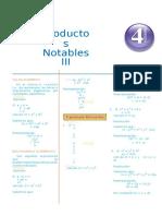 Guía 4 - Productos Notables III