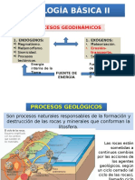 08 GEOLOGÍA BÁSICA II Procesos Erosivos General