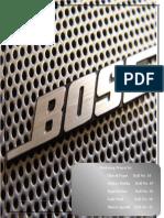 Bose Marketing Project