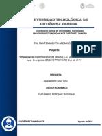 Propuesta de Implementación de Filosofía 5 S's en El Área de Producción de La Empresa SANAYE PROYECIE S.a de C.V.