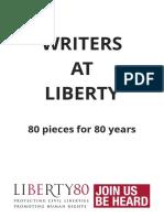 Writers at Liberty Book