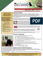 Newsletter Nov/Dec 2016