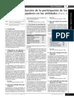 Deducción de La Participación de Los Trabajadores en Utilidades