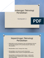 Tutorial Teknologi Pendidikan