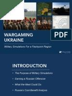 Ukraine Wargames Slideshare Final 160120