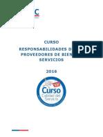 Curso Proveedores 2016
