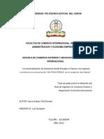 125 La Comercializaciòn de Artesanìas Desde Ecuador a Francia y Los Ingresos Económicos de La Asociaciòn Sin Fronteras de La Ciudad de San Gabriel - Polit Dorado, Henrry