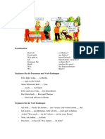 Alemán 03 Ejercicios - El Verbo. Oraciones Enunciativas e Interrogativas