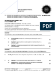 NEBOSH IGC1 Past Exam Paper December 2012