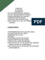 Lista de Apas y Laboratorios