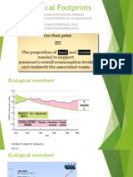 d t - ecological footprints