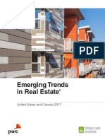 Pwc Emerging Trends in Real Estate 2017