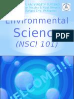 Environmental Science (Module 1)