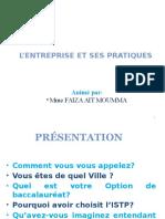 L_entreprise Et Ses Pratiques