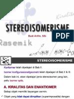 5 - (39) Stereoisomerisme