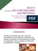 Material Metabolismo Das Proteínas