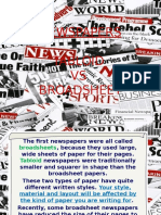 @Broadsheet vs Tabloid Newspapers