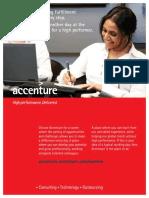 Women Recruitment Brochure - Accenture
