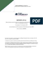 AEROMEX-Reporte Anual Del 2015