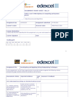 Assignment 2 Frontsheet