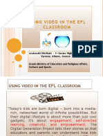 Using Video in the EFL Classroom