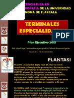 Terminales Especialidades de La Licenciatura en Naturopatia
