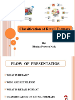 PRAVEEN-Classification of Retail Formats