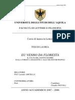 Eu Venho Da Floresta - Claudio Piccoli (Francês)