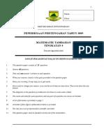 Matematik Tambahan Tingkatan 4